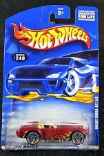 2001  Hot Wheels  Shelby Cobra 427 S/C  Card #240   HW-28
