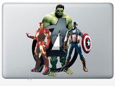 Avengers Decal Sticker Skin Decals Stickers for Macbook Pro Air 13 15 17 inch AV