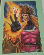 X-men fleer 1995 ultraprints -gambit