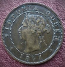 1871 PRINCE EDWARD ISLAND CENT CAN.SHIP $1.99 COMBINED SHIPPING ON ALL ITEMS