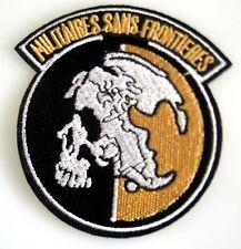 Metal Gear Fox Hound  - Militaires Sans Frontieres - Uniform Patch Aufnäher  neu
