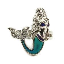 meerjungfrau schwanz stimmung emotionen gefühl farbe ändern verstellbare ring