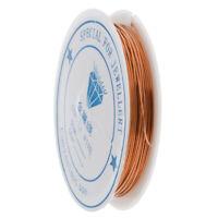 Plated Half-Hard Brass Round Wire 0.25mm to 1mm Jewelry Making Wire Craft