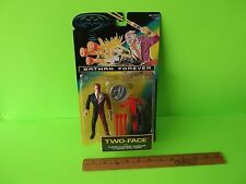 """Batman Forever Two-Face 5""""in Figure w/Turbo Charge Cannon & Good /Evil Coin 1995"""