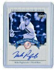 Mike Pagliarulo 2003 UD Yankees Signature Series Pride  New York Autograph Auto