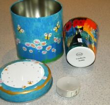 Goebel Rosina Wachtmeister Fine Porcelain Tea Light Cup Serafina in gift tin New