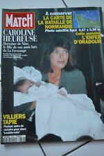 REVUE PARIS MATCH N°2352/1994 GUERRE WW2 LA CARTE DE LA BATAILLE DE NORMANDIE