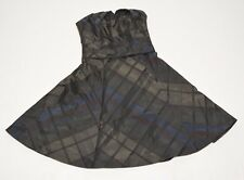 Karen Millen Women's Plaid Flared Sleeveless Dress ,Size 4