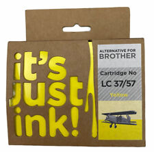 it's just ink! Brother Cartridge No LC 37 57 Yellow