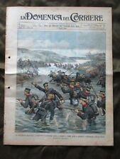 La Domenica del Corriere 15 Maggio 1904 Esercito giapponese Treno a Parigi Nave