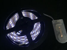 1m long, 60 WHITE LED, Battery Powered Waterproof LED Light Strip