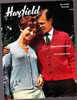 "QK,DK Hayfield 977 Vintage Baby Knitting Pattern 18-22/"" Cardigans"