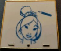 MULAN Disney Pin 88950 Animation Art Mystery princess CHASER blue artist sketch