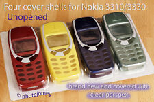 Nokia front and back covers shells for 3310 3330 brand new!