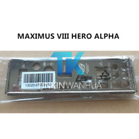 I/O SHIELD back plate BLENDE BRACKET for ASUS MAXIMUS VIII HERO ALPHA