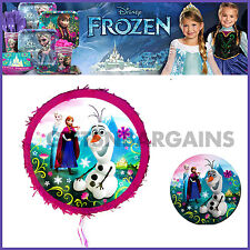 DISNEY FROZEN PINATA BIRTHDAY ELSA ANNA OLAF PINYATA PARTY SUPPLIES *FREE Gift*