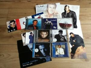Peter Andre - 7 CD's/Posters/cards - Mysterious/Feel You/Flava/Lonely/Natural