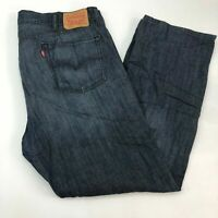 Levi's 559 Denim Jeans Mens 42X32 Blue Relaxed Straight Fit 100% Cotton Zip Fly