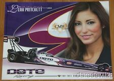 2014 Leah Pritchett Dote Racing Top Fuel NHRA postcard