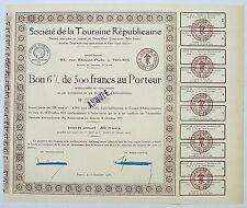Dépt 37 - Tours 23 Rue E. Pallu - Très Rare Journal Touraine Républicaine 1933