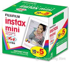 50 Fuji Instax Mini 8 Film Mini 50s Mini 70 Mini 90 Mini 25 Mini 7s Fujifilm