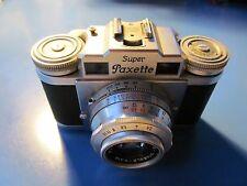 Braun Super Paxette Camera Nurnberg 35mm Staebel Kata 45mm 2.8 Lens
