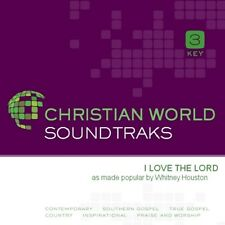 Whitney Houston - I Love The Lord - Accompaniment CD New