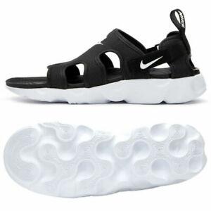 Nike Owaysis Sandals Mens Comfort Slippers Black White CT5545 001 NEW U Pick sz
