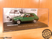 SEAT RITMO 75 CLX GREEN 1:43 1979 MINT WITH BOX-ART!!!