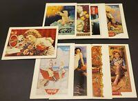 40 x Coca Cola Archives Advertising Print Postcards 1990-1992