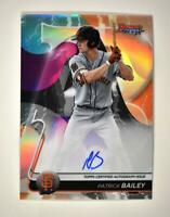 2020 Bowman's Best of 2020 Auto Refractor #B20-PB Patrick Bailey