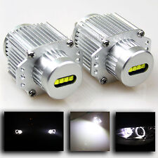 NEW!!! BMW E90 E91 3-SERIES 40W CREE LED WHITE ANGEL EYE HALO RING LIGHT BULBS