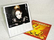 Avril Lavigne Beyonce Celine Dion Britney Spears Taiwan Promo 2014-year Calendar