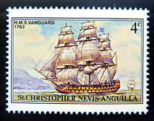 St KITTS 1980 - 4c Ship with OPT Omitted SG420 U/M NEW NEW LOWER PRICE BN1050