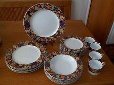 American Atelier Fruitage Dish Set ~ 23 Pieces ~ Plates Cups Bowls