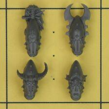 Warhammer 40K Dark Eldar Kabalite Warriors Helmets (B)