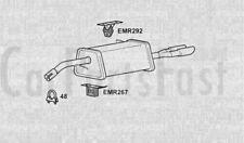 Exhaust Rear Box  Citroen DS3 1.6 Diesel Hatchback 10/2009 to 12/2013