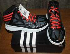 premium selection 24008 2d17e NIB ADIDAS CRAZY SHADOW 2 Q33441 YOUTH SIZE 5 BLACKRED FREE SHIPPING