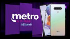 New Lg Stylo 6 64Gb Rom | 3Gb Ram (metroPcs By Tmobile Only) Includes Sim Card