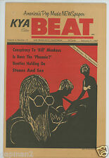 KYA Beat 1967 Teen Paper #2-15 Beatles  Monkees P.J. Proby Joan Baez Donovan