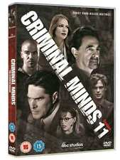 Criminal Minds Season 11 DVD Region 2 New Sealed Discs : 5 disc(s) UK FREE P&P