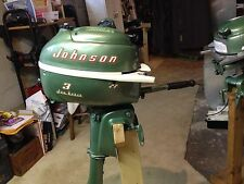 Johnson outboard motors ebay for Oil to gas ratio for johnson outboard motors