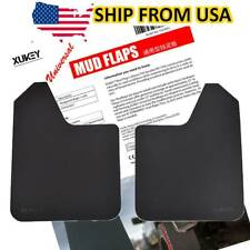 Universal Fit Car Mud Flaps Splash Guard Fenders For Front or Rear w/ Hardware
