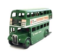DINKY TOYS 29C Double Decker Model Bus In London Country Livery 353 Windsor.