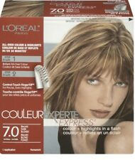 2 Boxes L'Oreal Couleur Experte Express Hair Color 7.0 Biscotti Dark Blonde