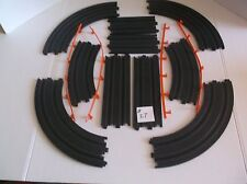 afx tomy slot car track parts lot, ho 1/64 scale, in nice condition