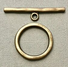 Brass Colored Metal Toggle Clasp