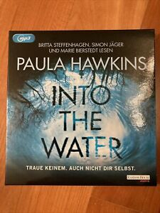 Paula Hawkins: Into the Water (Thriller) -  2 MP3 CD's - TOP