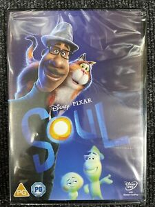 Soul (Disney Pixar) DVD - UK Stock - Brand New & Sealed