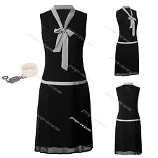 Art Deco Vintage Great Gatsby 1920s Roaring 20s Themed Party Cocktail Dress 6-18